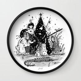 Oh Christmas Tree...!! Wall Clock