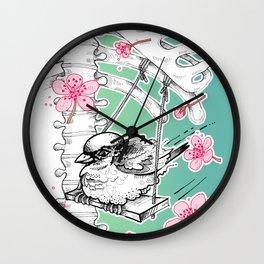 Elastic Heart Wall Clock