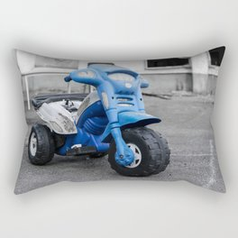 Abandoned Tricycle Rectangular Pillow