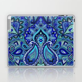 Paisley Blue Laptop & iPad Skin