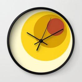 Anumati - Classic 70s Retro Style Wall Clock
