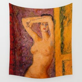 Summer in Paris, Female Portrait by Arturo Souto Wall Tapestry