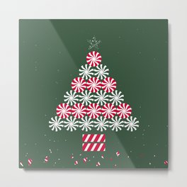 Christmas Tree III Metal Print