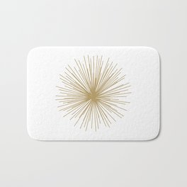 Gold Sputnik Orb Bath Mat