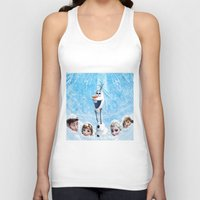 olaf Tank Tops featuring FROZEN OLAF  by BESTIPHONE5CASESHOP