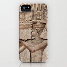 Horus and Temple of Edfu iPhone Case