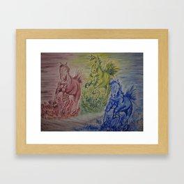 June Baby Framed Art Print