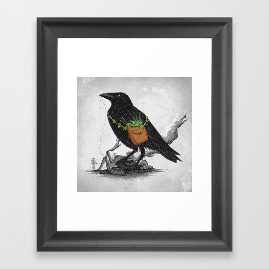 Clean the World III Framed Art Print