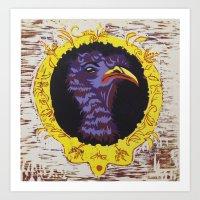 Turkeys Are Weird  Art Print