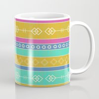 southwest Mugs featuring Southwest Dawn by Rebecca L. Davis