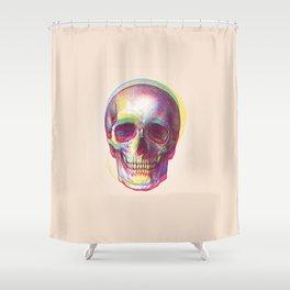 acid calavera Shower Curtain