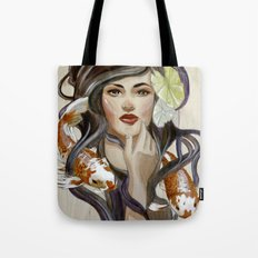 In a pond Tote Bag