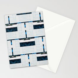 Social Media Comp with Example Components Stationery Cards