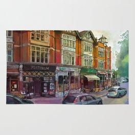 Colourful London Rug