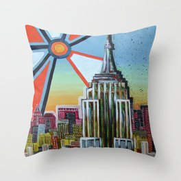 Empire of the Sun Throw Pillow