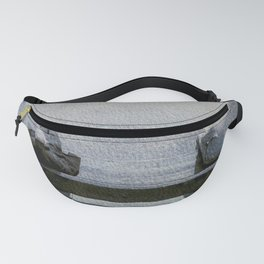 Piazza bank in London Fanny Pack