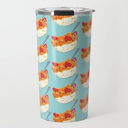 Cereal Pattern Travel Mug
