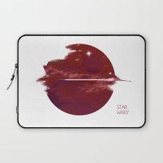 Star Wars Minimalist Cloudy Poster Laptop Sleeve