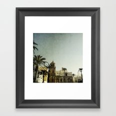 Where The Guadalquivir meets the sea Framed Art Print