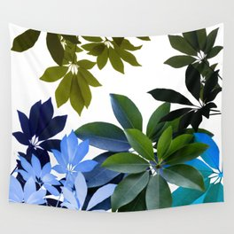 Leaves, Botaical Composition Wall Tapestry