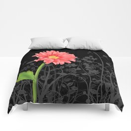 Gerbera Daisy #3 Comforters