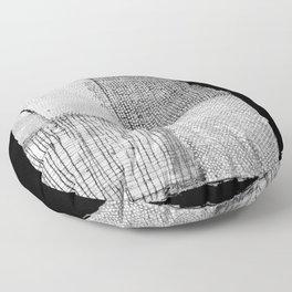 White & Grey Floor Pillow