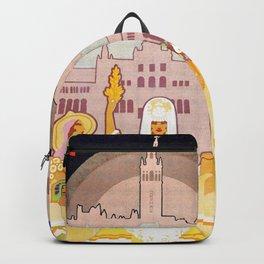 Seville Hispano American Expo 1929 art deco ad Backpack