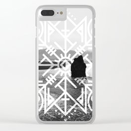 Rune of Protection Clear iPhone Case