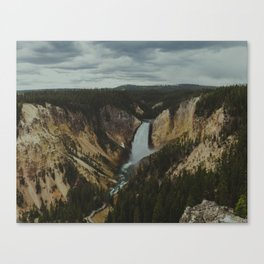 Yellowstone National Park Falls Canvas Print
