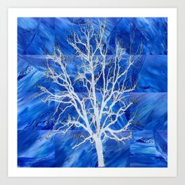 and the seed became tree Art Print