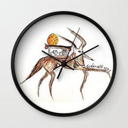 Sidewalk Eyes Wall Clock