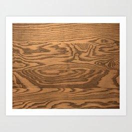 Wood 4 Art Print