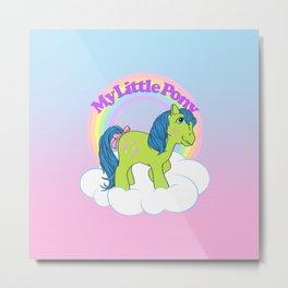 g1 my little pony year 3 Tootsie Metal Print