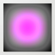 Pink Lavender Gray Focus Canvas Print