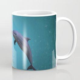 dolphins love Coffee Mug