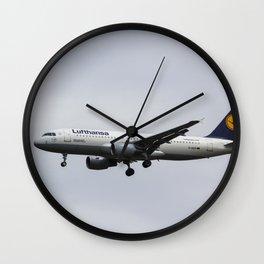 Lufthansa Airbus A320 Wall Clock