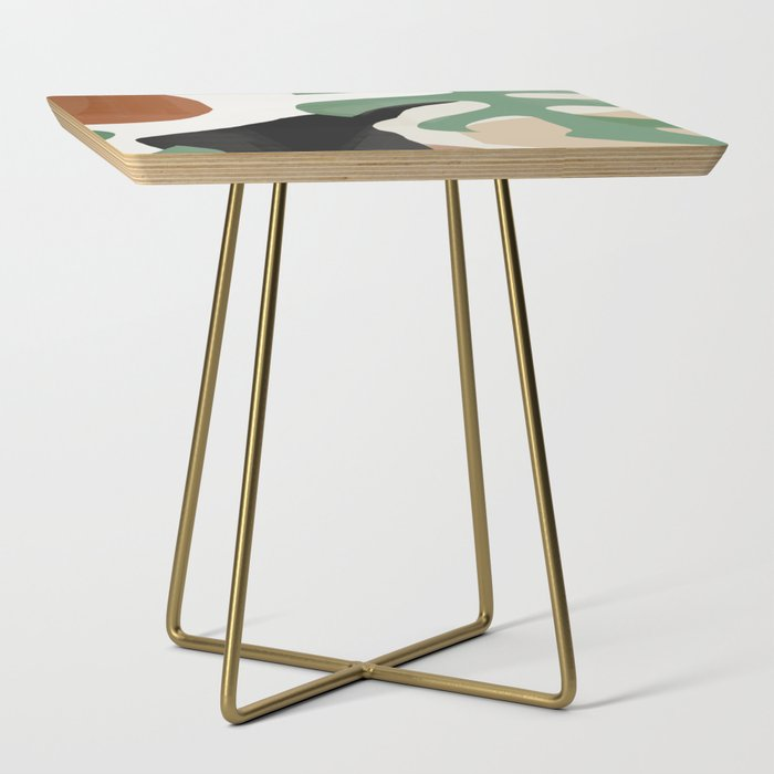 Abstract Art 37 Side Table