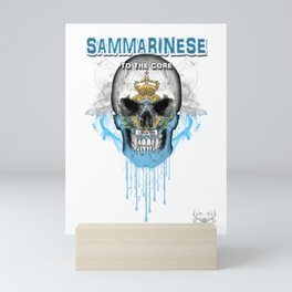 To The Core Collection: San Marino Mini Art Print