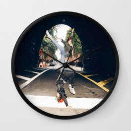 Beauty In these Streets Wall Clock