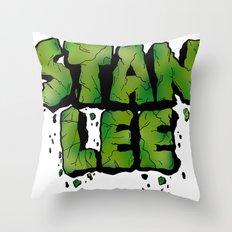 Stan Lee (Hulk) Throw Pillow