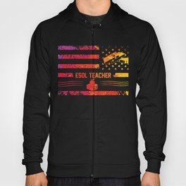 Gift for ESOL Teachers Students Hoody