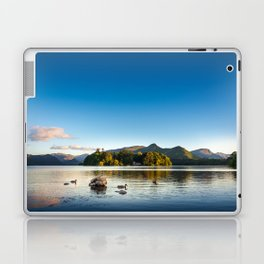 Ducks on Lake Derewentwater near Keswick, England Laptop & iPad Skin