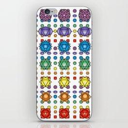 Chakra's pattern iPhone Skin