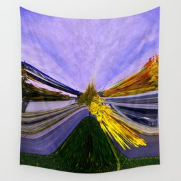 Abstracting Autumn Wall Tapestry