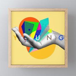 Young Again Framed Mini Art Print