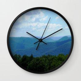 Lake George View Wall Clock