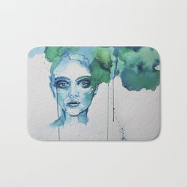 Blue Day Bath Mat