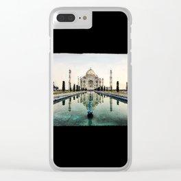 Majestic TajMahal - 195 Clear iPhone Case