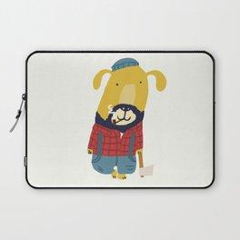 Rugged Roger - the lumberjack Laptop Sleeve
