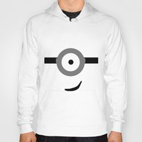 minions Hoodies featuring Minions Banana? by ZenthDesigns